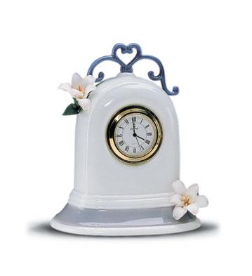 Clock Lladro Figurine