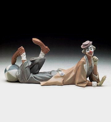 Clown Lladro Figurine