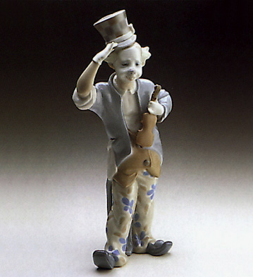 Clown Lladro Figurine