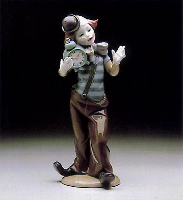 Clown Alarm-clock Lladro Figurine