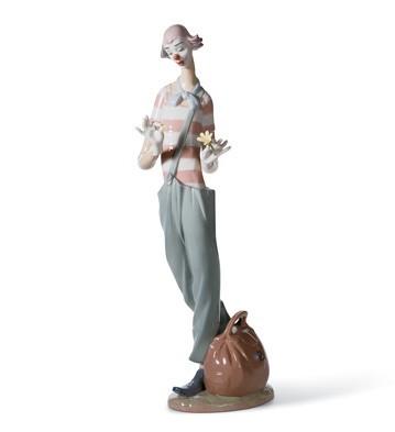 Clown In Love Lladro Figurine