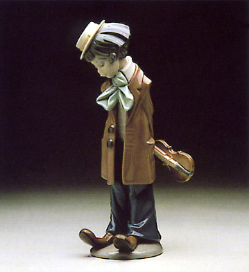 Clown Standing Lladro Figurine