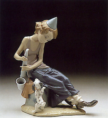 Clown W. Saxophone Lladro Figurine