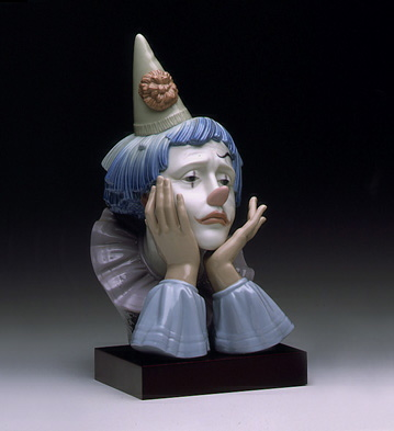 Clown's Head (b) Lladro Figurine