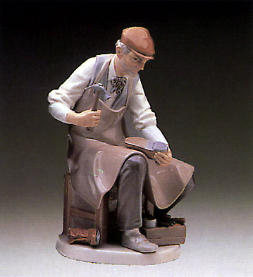 Cobbler Lladro Figurine