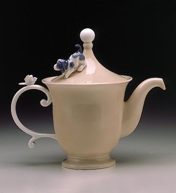 Coffee Pot Lladro Figurine