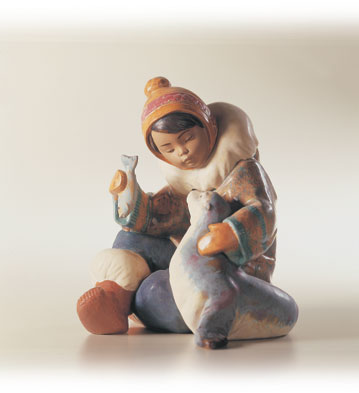 Cold Weather Companions Lladro Figurine