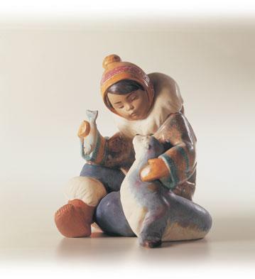 Cold Weather Companions Lladro Figurine
