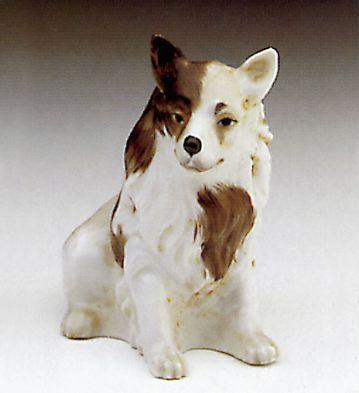 Collie Lladro Figurine