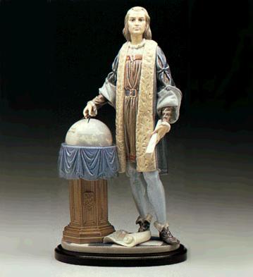 Columbus (l.e.) (b) Lladro Figurine