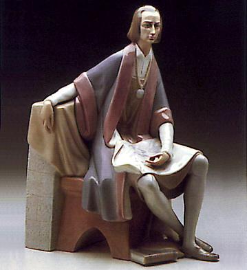 Columbus Lladro Figurine