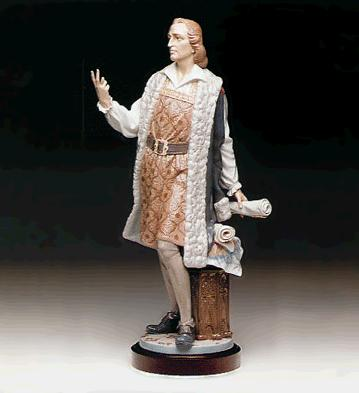 Columbus,two Routes (l.e. Lladro Figurine