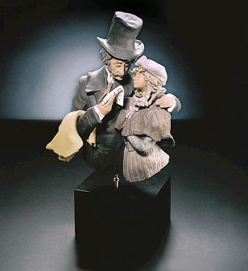Comforting News (l.e.) (b Lladro Figurine