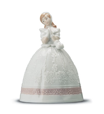 Communion Bell Lladro Figurine
