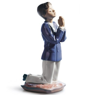 Communion Prayer (boy) Lladro Figurine