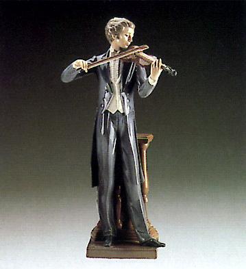 Concert Violinist Lladro Figurine