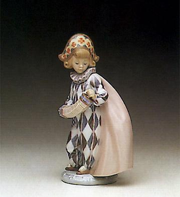 Concertina Lladro Figurine