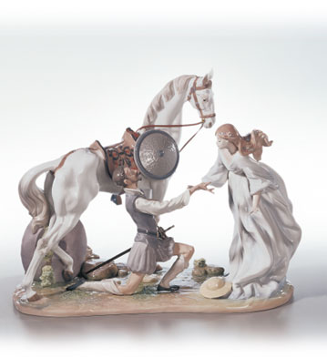 Conquered By Love Lladro Figurine