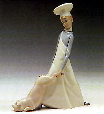 Cook In Trouble Lladro Figurine