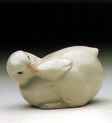 Coquettish Chick Lladro Figurine
