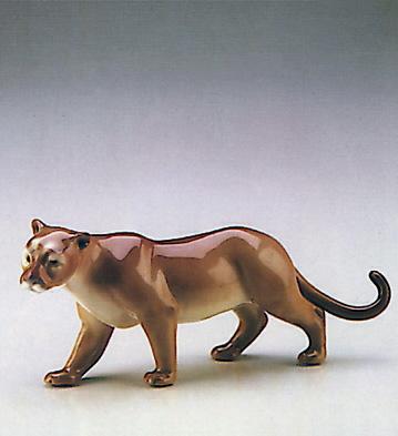 Cougar Lladro Figurine