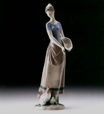Country Chores Lladro Figurine