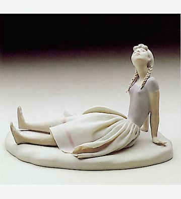 Country Girl Lladro Figurine
