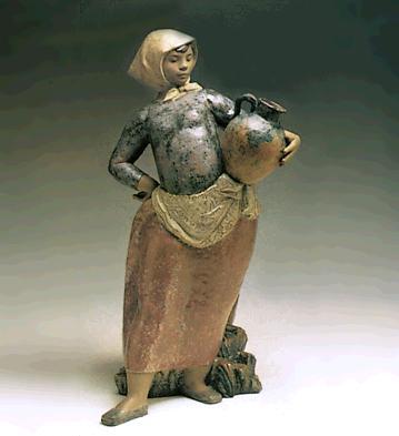 Countrywoman (l.e.) Lladro Figurine