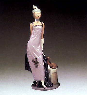 Couplet Lady Lladro Figurine