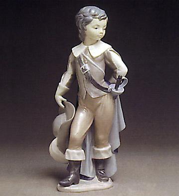 Courtier Boy Lladro Figurine