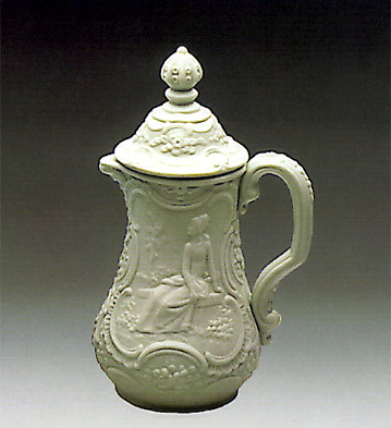 Covered Jug-decorated Lladro Figurine