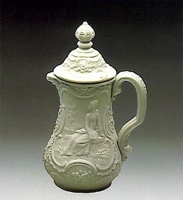 Covered Jug-decorated Lladro Figurine