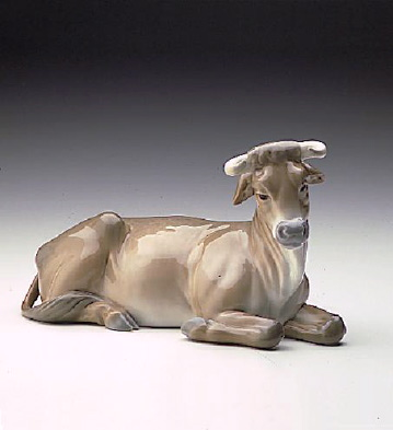 Cow-white Lladro Figurine
