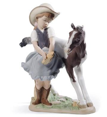 Cowgirl Lladro Figurine