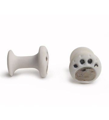 Cufflinks Bear Paws Lladro Figurine