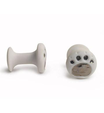 Cufflinks Bear Paws Lladro Figurine