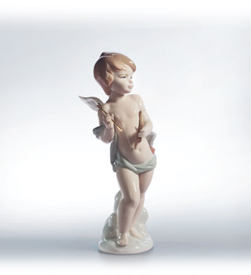 Cupid's Arrow Lladro Figurine