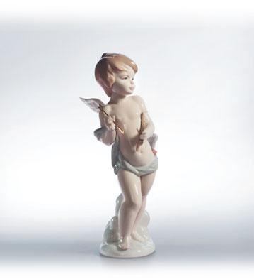 Cupid's Arrow Lladro Figurine