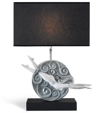 Curiositas - Left Lamp (us) Lladro Figurine