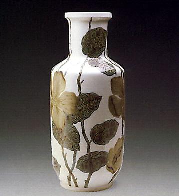 Cylindric-vase Flora Lladro Figurine