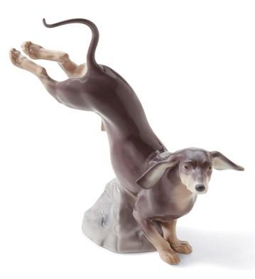Dachshund Lladro Figurine