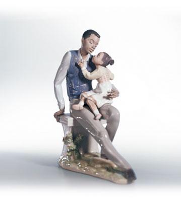 Daddy's Little Sweetheart Lladro Figurine