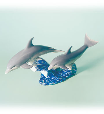 Dance Of The Dolphins Lladro Figurine