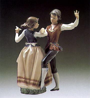Dancing The Polka Lladro Figurine