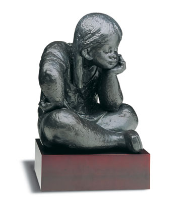 Daydreaming (l.e.) (b) Lladro Figurine