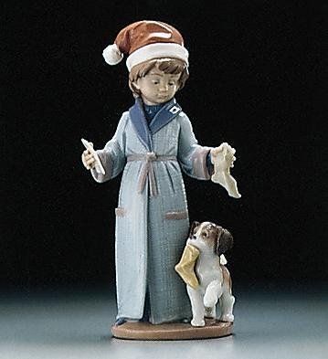 Dear Santa Lladro Figurine