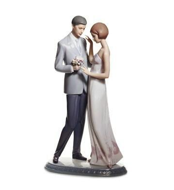 Declaration Of Love Lladro Figurine