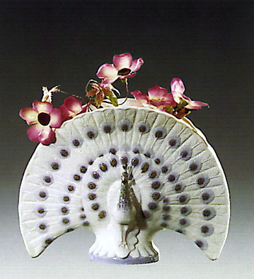 Decorative Peacock Lladro Figurine