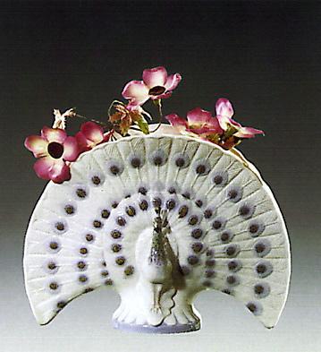 Decorative Peacock Lladro Figurine
