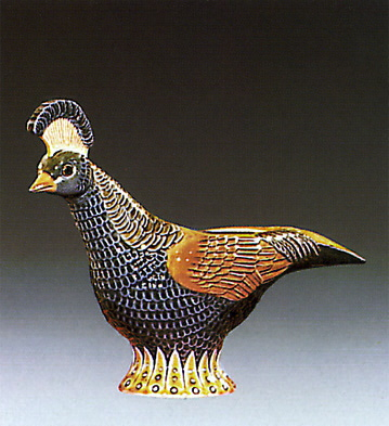 Decorative Pheasant Lladro Figurine